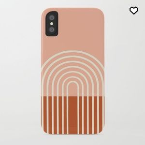 Society6 Terracotta iPhone X Slim Case